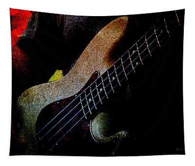 Bass Guitar Tapestry