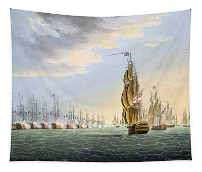 Battle Of The Nile Tapestry