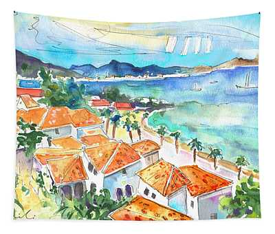 Bay Of Saint Martin Tapestry