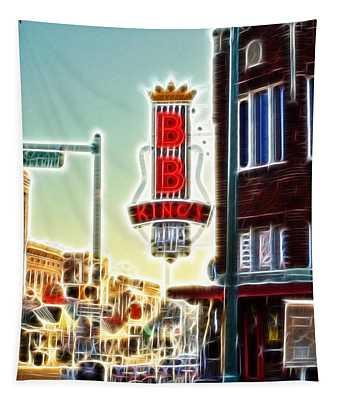 Bb King Club Tapestry