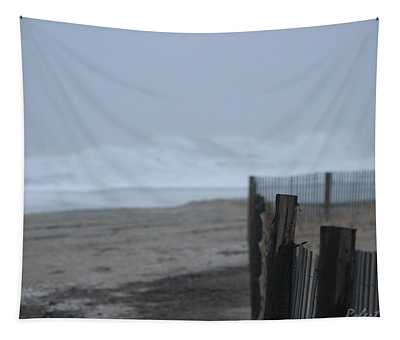 Beach Access Waves Ahead Tapestry