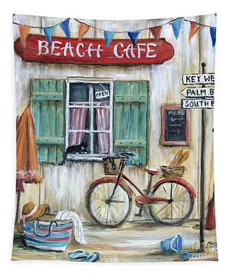 Beach Cafe Tapestry