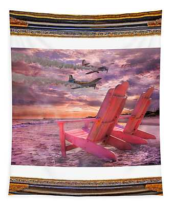 Beach Flight II  Tapestry