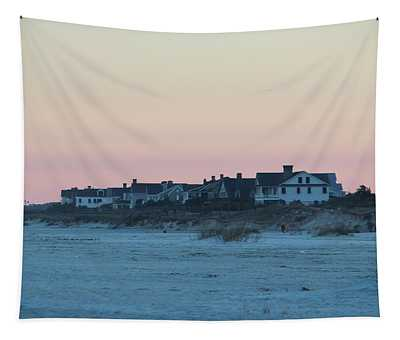 Beach Houses Tapestry