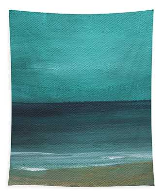 Beach Morning- Abstract Landscape Tapestry