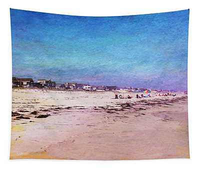 Beach Town Tapestry