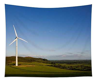 Beallough Windfarm, Above Portlaw Tapestry