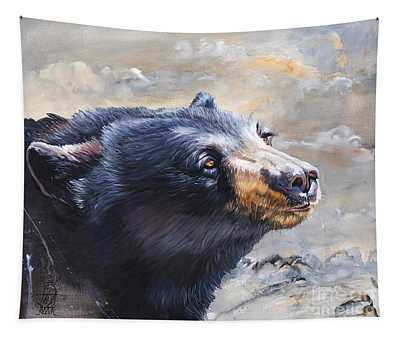 Four Winds Bear Tapestry