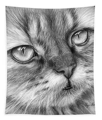 Beautiful Cat Tapestry