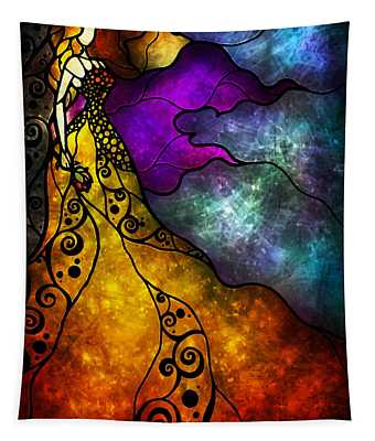 Beauty And The Beast Tapestry