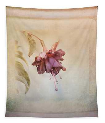 Beauty Fades Softly Framed Tapestry