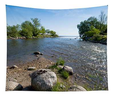 Beaver River Flowing Into Georgian Bay Tapestry