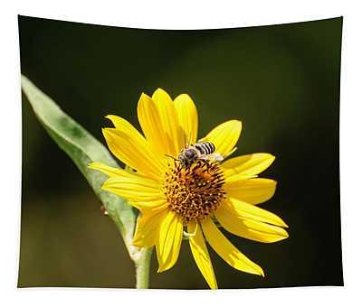 Bee Flower Tapestry