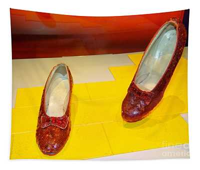 Before Louboutin There Was Dorothy Tapestry