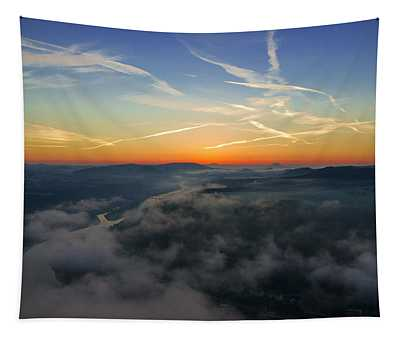 Before Sunrise On The Lilienstein Tapestry