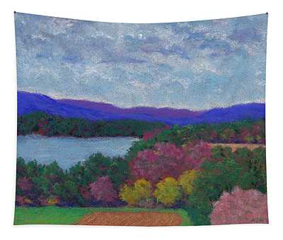 Berkshires In Late October Tapestry