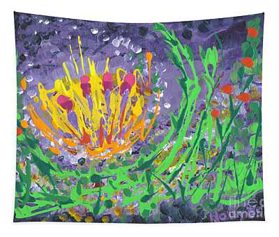 Berries And Brambles Tapestry