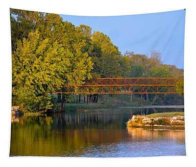 Berry Creek Bridge Tapestry