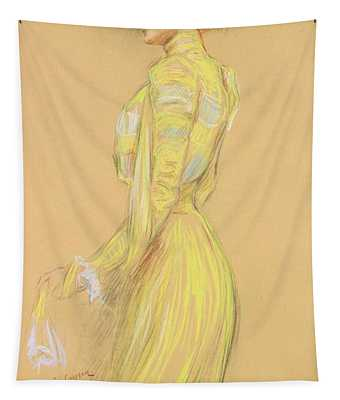 Berthe Cerny 1868-1940 June 1900 Pencil On Paper Tapestry
