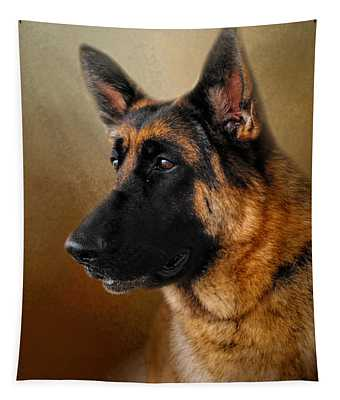 Best In Show - German Shepherd Tapestry