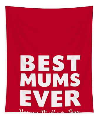 Best Mums Mother's Day Card Tapestry