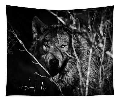 Beware The Woods Tapestry