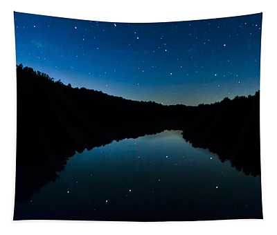 Big Dipper Reflection Tapestry