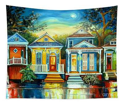 Big Easy Moon Tapestry