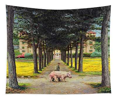 Big Pig, Pistoia, Tuscany  Tapestry