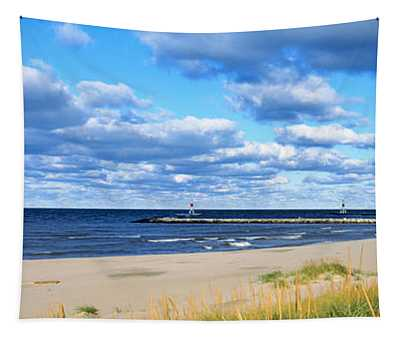 Big Red Lighthouse, Holland, Michigan Tapestry