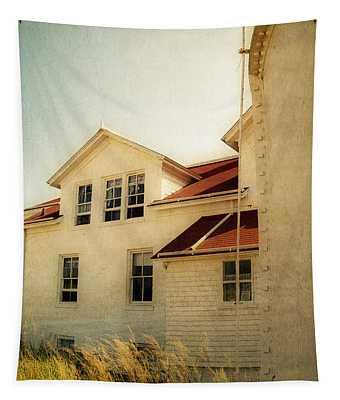 Big Sable Lighthouse At Ludington State Park 2.0 Tapestry