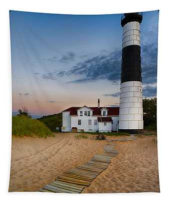 Big Sable Point Lighthouse Tapestry