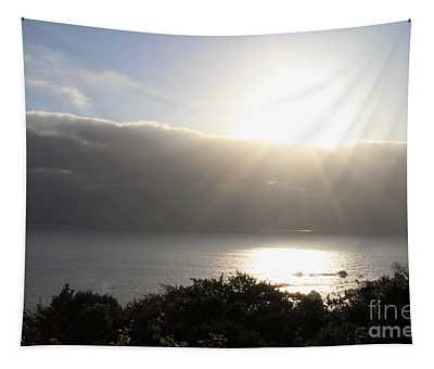 Big Sur Sunset Tapestry