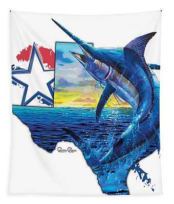 Bigger In Texas Tapestry