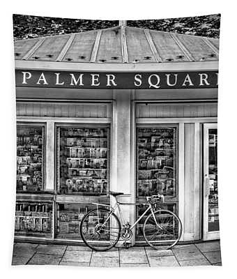 Bike At Palmer Square Book Store In Princeton Tapestry