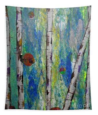 Birch - Lt. Green 4 Tapestry