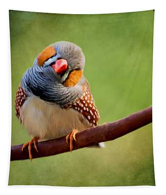 Bird Art - Change Your Opinions Tapestry