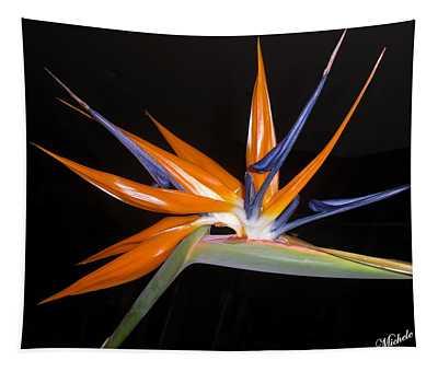 Bird Of Paradise Beauty 4 Tapestry
