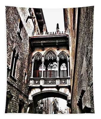 Bishop's Street - Barcelona Tapestry