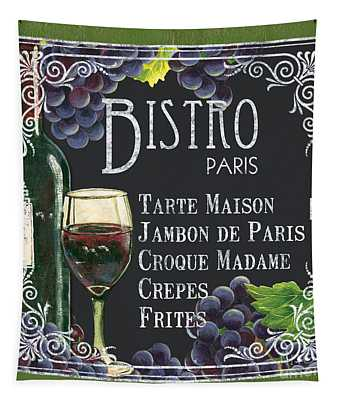 Bistro Paris Tapestry