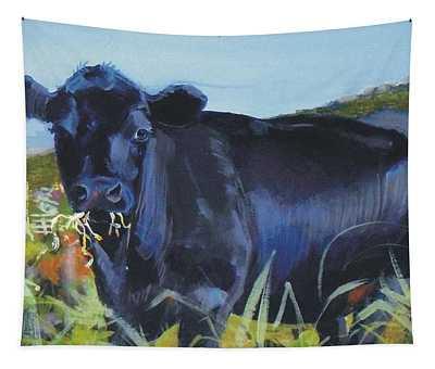 Cows Dartmoor Tapestry