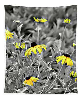 Black-eyed Susan Field Tapestry
