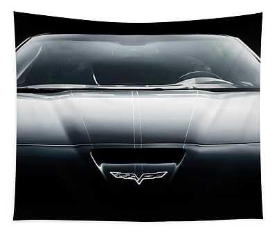 Black Grand Sport Corvette Tapestry