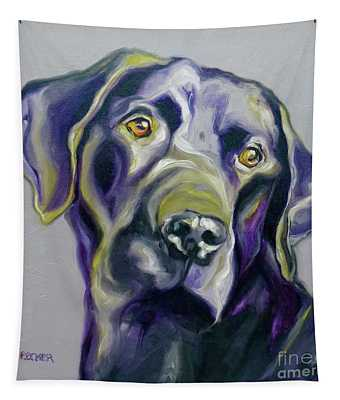 Black Lab Prize Tapestry