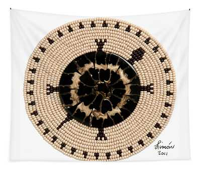 Black Shell Tapestry