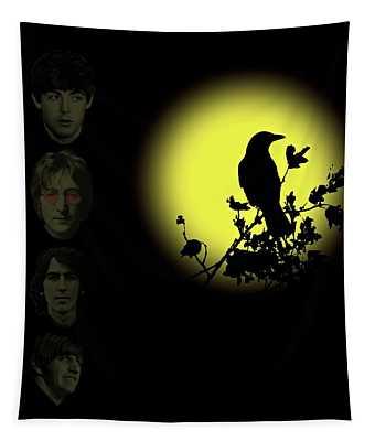 Blackbird Singing In The Dead Of Night Tapestry