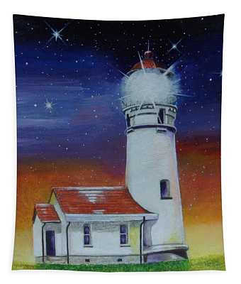 Blanco Lighthouse Tapestry