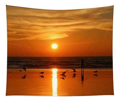 Bliss At Sunset   Tapestry