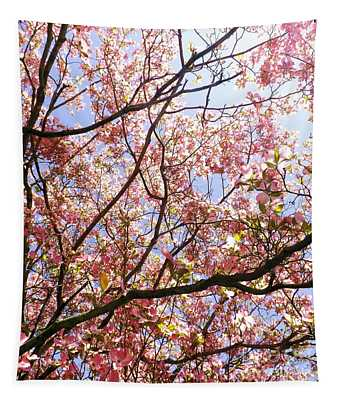 Blossoming Pink Tapestry
