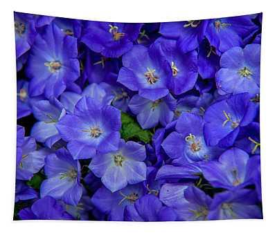 Blue Bells Carpet. Amsterdam Floral Market Tapestry